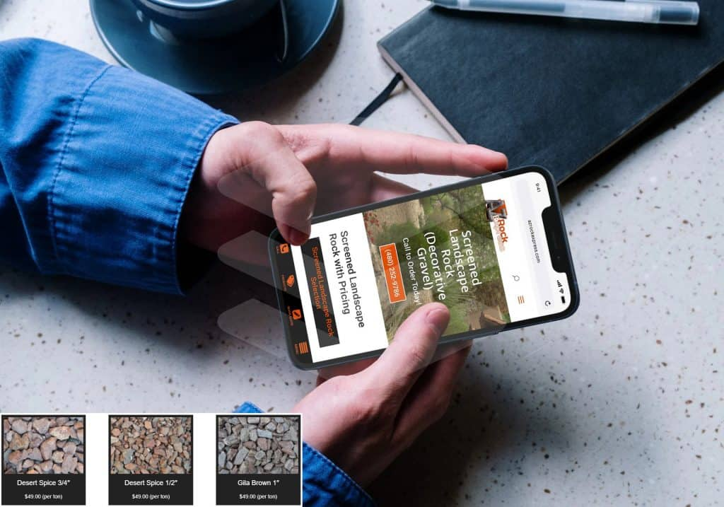 Landscape Rock Company Exceeds Revenue Goals with Digital Marketing